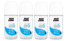 4x Right Guard Women TD5 INVISIBLE ROLL-ON 48h Protection Antiperspirant 50ml