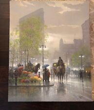 """G. Harvey """"SUNDAY SHOWERS"""" S/N #485/550- Serigraph (Issue price  $800)"""