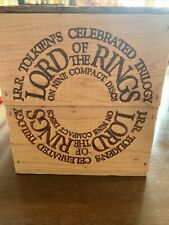 New The Lord of the Rings Compact Disc (Wood Box Edition) by J.R.R. Tolkien