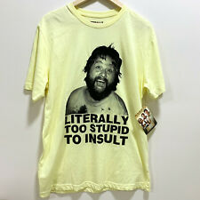 The Hangover Alan T-Shirt Size M Literally Too Stupid To Insult New With Tags