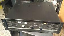 JBL MPX 1200 BY QSC MX 3000A amplificatore