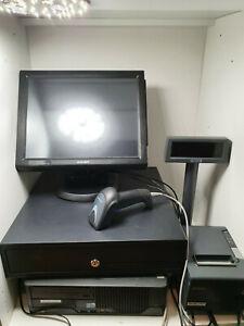 PACK PC caisse enregistreuse TACTILE imprimante epson tm t88v afficheur client