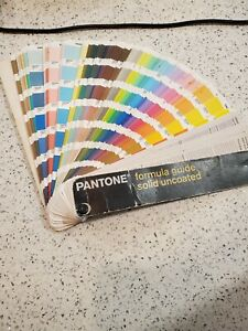 Pantone Books Solid Uncoated Paper 2005-2006