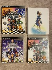 Kingdom Hearts HD 1.5 y 2.5 Remix Edición Limitada PS3 Paquete
