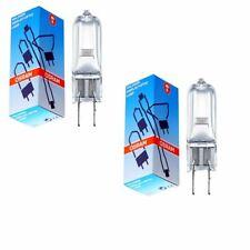 2xOsram 250w G6.35 EHJ Halogen Capsule Bulb / Projector Lamp - 24V