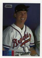 2020 Topps Stadium Club #203 CHIPPER JONES Atlanta Braves PHOTO BASEBALL CARD