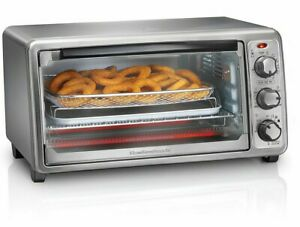 Hamilton Beach Sure-Crisp Air Fry Toaster Oven # 31413. New and Sealed in Box