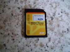GENUINE FORD SAT NAV NAVIGATION SD CARD V2.5 WESTERN EUROPE MONDEO FOCUS L@@K