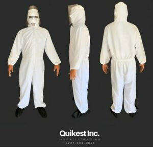 PPE Hazmat Suit (Microfiber waterproof Coverall)