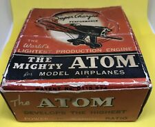 The Mighty Atom Model Airplane Engine #15596 in Box with Booklet