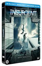 INSURGENT 3D Blu ray Steelbook - 3 Disc set ( NEW )