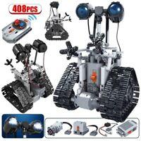 408PCS Remote Control Intelligent RC Robot Building Blocks Electric Bricks Toys