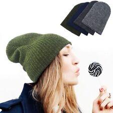 Chapeaux verts en acrylique pour femme
