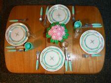 TYCO KITCHEN LITTLES FLORAL DINNERWARE SET