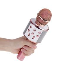 Wireless Bluetooth Microphone Karaoke KTV Handheld Mic USB Speaker Player US
