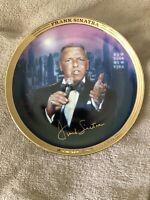 Franklin Mint FRANK SINATRA NEW YORK NEW YORK MUSICAL PLATE * FREE SHIP