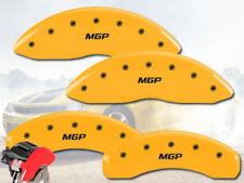 "2008-2012 Jeep Liberty Front + Rear Yellow ""MGP"" Brake Disc Caliper Covers 4pc"
