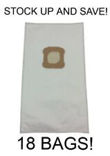 (18) Vacuum Bags for Kirby Generation G4, G5, G6, G3, Gsix, HEPA Micron Cloth