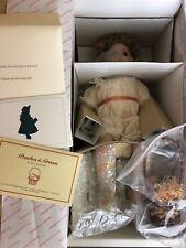 Georgetown Collection Peaches & Cream Porcelain Doll By Ann Timmerman NIB W/ COA