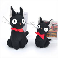 New Studio Ghibli KIKI'S DELIVERY SERVICE JIJI Cat Plush Toy Christmas Kids Gift