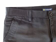 Mens Casalino Black Trousers Size 36  100% Cotton