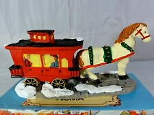 DICKENSVILLE COLLECTABLES  -  Horse and Coach  -  In Box
