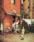 Print - The Homecoming by Norman Rockwell