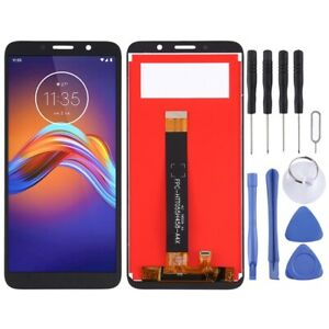 For Motorola Moto E6 Play LCD Screen Touch Digitizer Glass Assembly BLACK