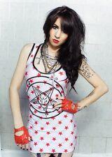 TOXIC VISION Prowler Red Star Pentagram Dress Metal