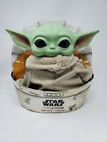 "Baby Yoda Doll Star Wars Mandalorian The Child 11"" Plush Mattel GWD85"