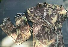Under Armour Mossy Oak Camouflage Compression Leggings & Turtleneck XXL 2XL