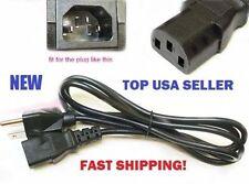Panasonic PT-L757U PT-AE4000U Projector Power Cable Cord Plug AC NEW 5ft