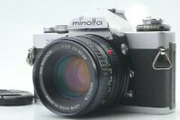 【Exc+5】 Minolta XD Film Camera + MD Rokkor 50mm f/1.7 Lens from Japan #244