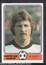 Monty Gum World Cup 1982 Football Card No 48 - Kreuz - Austria