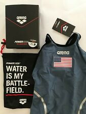 Arena Powerskin Carbon Ultra Race Tech Suit Women's US Size 26 closed back