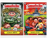 Garbage Pail Kids 2019 Was The Worst #11-12 ARYA Grade A FAY Topps PR: 500s
