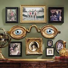 FOLK ART OPTOMETRIST TRADE SIGN DESIGN TOSCANO  eyes  eye  glasses  folk art
