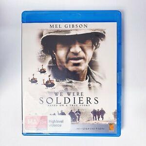 We Were Soldiers Movie Bluray Free Postage Blu-ray - Action War