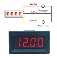 DC 0-99.99V (100V) 4-digits 0.36inch Digital Voltmeter 3Wire Voltage Panel Meter