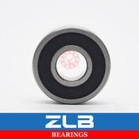 6001-2RS 6001 Groove Ball Bearing 10PCS 12x28x8mm Rubber Shields ABEC-5 Deep