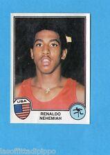 SPORT SUPERSTARS/EURO FOOTBALL 82-PANINI-Figurina n.17- NEHEMIAH - USA -Rec