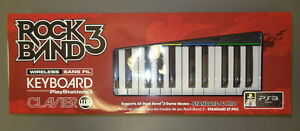 PS3 PlayStation 3 Rock Band 3 Music Keyboard ONLY NEW (NO DONGLE or STRAP)