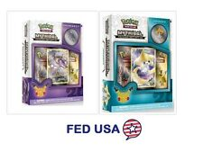 Pokemon Mythical Jirachi + Genesect Mythical Collection Pin Box Generation Packs