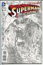 SUPERMAN UNCHAINED #9 SKETCH VARIANT 1:300 JIM LEE DC COMICS 2015 NM