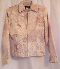 GIANCARLO FERRARI WOMEN'S BEIGE CLASSIC LINED DRESS JACKET SIZE - 4