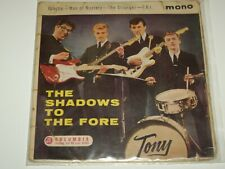 """THE SHADOWS  ***RARE NZ Pressing  7"""" EP ' TO THE FORE ' 1961 GC-"""