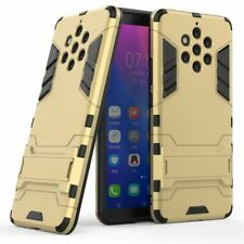 Phone Cases For Nokia 9 Pure View Rubber Silicon TPU PC Robot Armor Back Covers