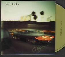 PERRY BLAKE  California PROMO CD ALBUM FRENCH NAIVE