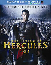 The Legend of Hercules (Blu-ray Disc, 2014, 3D 2D Digital Copy UV w/ Slip Cover