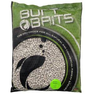 Burt Baits Winter White Pellets Coarse Carp Match Fishing 2, 4, 6, 8mm